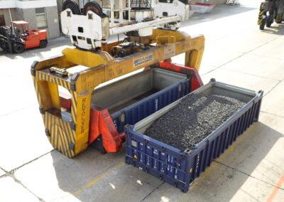 bulk handling ship to shore operation
