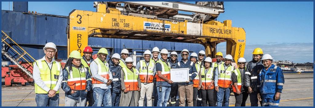 bulk handling at the port of Elizabeth