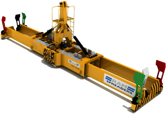 Twin Lift MHC Spreader
