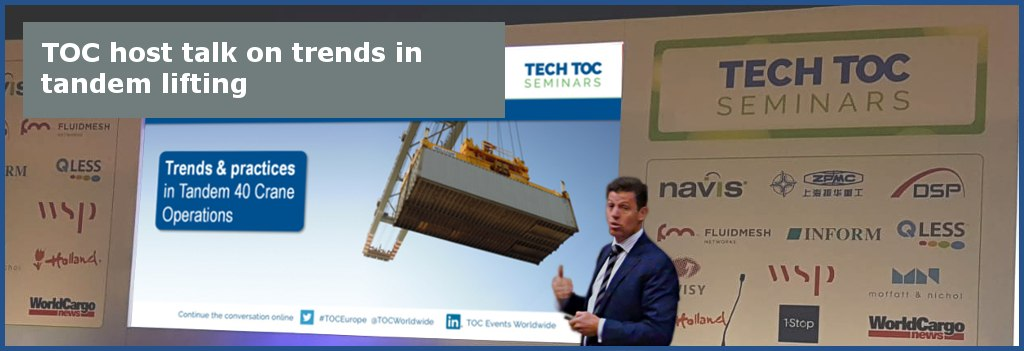 TOC host talk on trends in tandem lifting