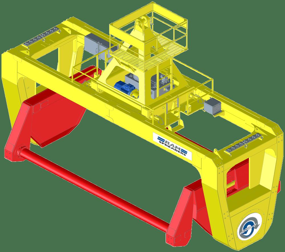 RAM 4121 MHC crane
