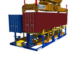Fully automated twistlock handling machine - PinSmart II