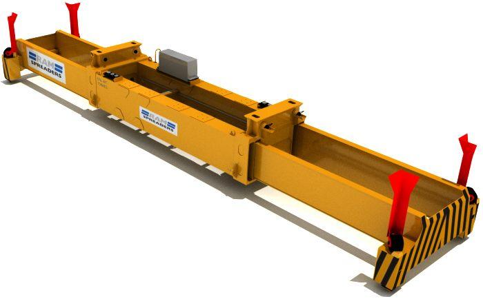 2400 - hydraulic single lift sts spreader