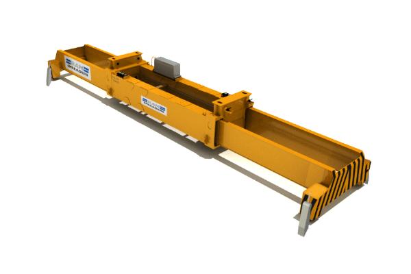 3500 All Electric RTG - RAM Spreaders