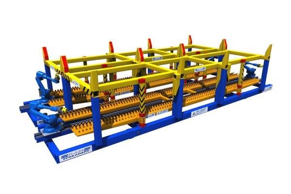 Automatic twist lock handling machine - RAM Spreaders
