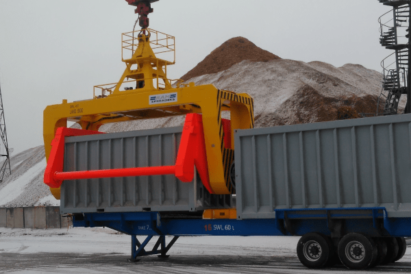Pit to ship bulk operation - RAM Spreaders