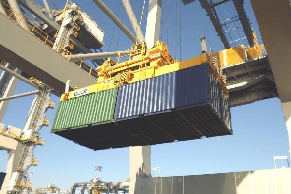 SingFlex on Quay Crane