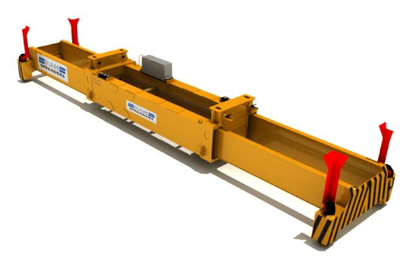 Single lift spreader